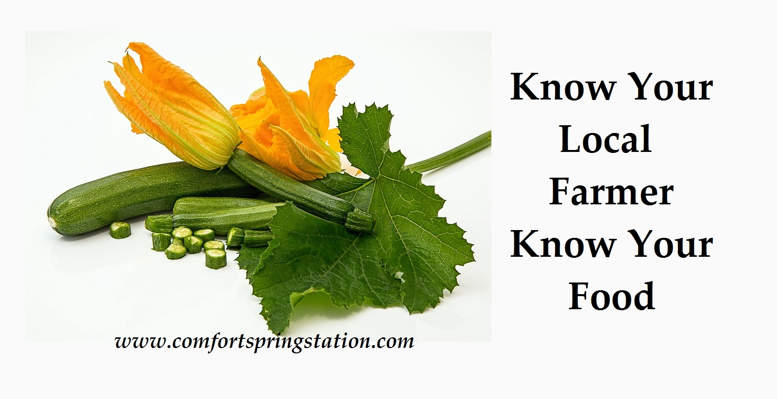 Know Your Local Farmer, Know Your Food